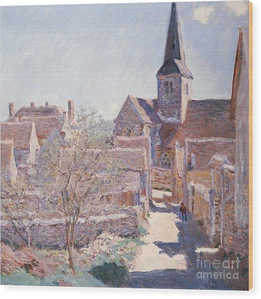Bennecourt Wood Print