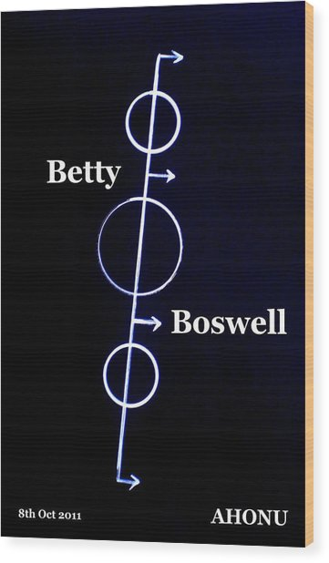 Betty Boswell Wood Print