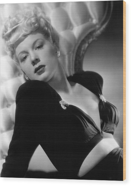 Betty Hutton, Paramount Pictures, 1943 Wood Print by Everett