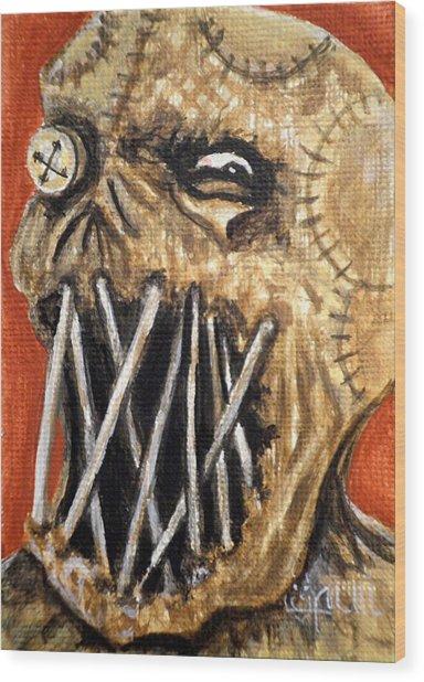 Beware The Fear Wood Print by Al  Molina