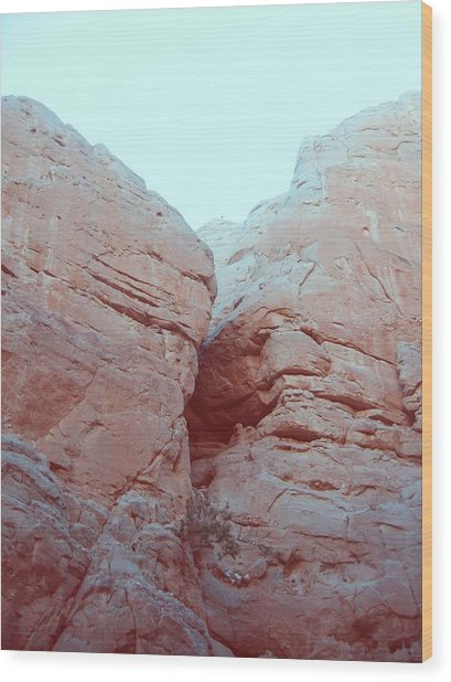 Big Rocks Wood Print