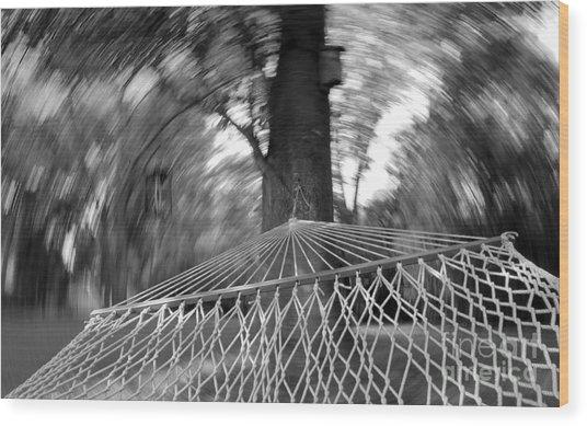 Blurry Still Wood Print by Scott Allison