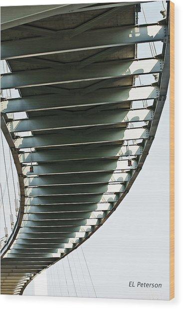 Bob Kerrey Pedestrian Bridge Wood Print