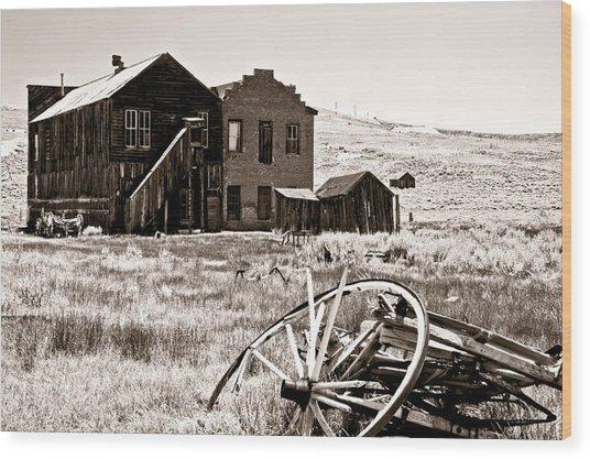 Bodie-still Standing Wood Print
