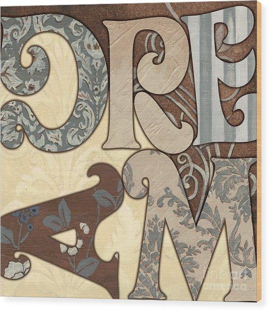 Bohemian Dream Wood Print
