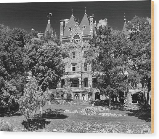 Boldt Castle 0152 Wood Print