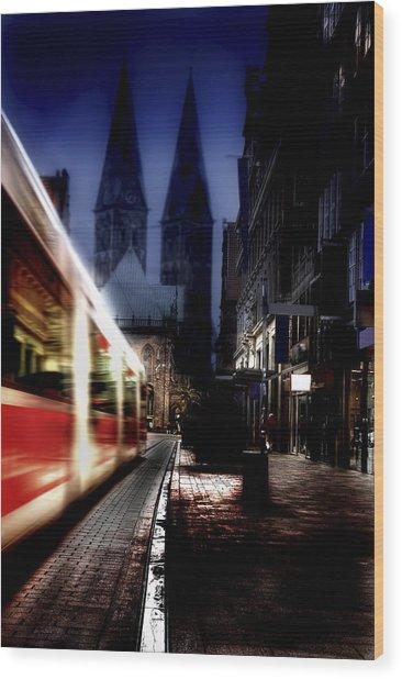 Bremen Wood Print
