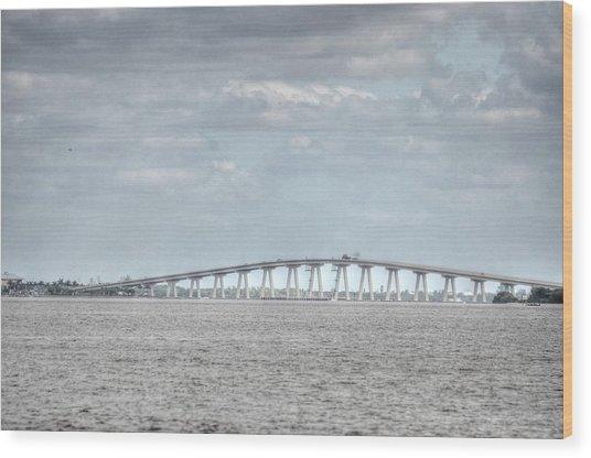Bridge Passage Wood Print by Barry R Jones Jr