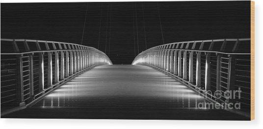 Bridge Wood Print by Jenny Potter