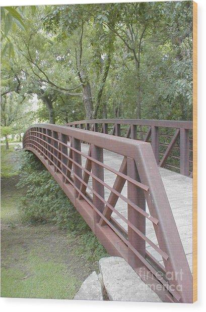 Bridge To Beyond Wood Print