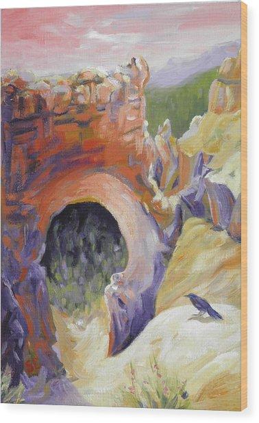 Bryce Canyon Light Utah Wood Print