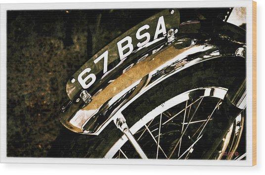 BSA Wood Print
