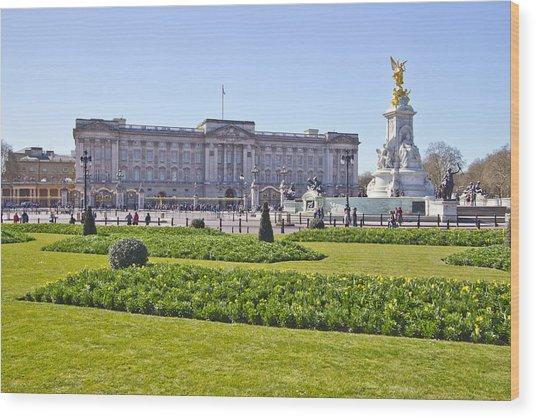 Buckingham Palace  Wood Print by David French