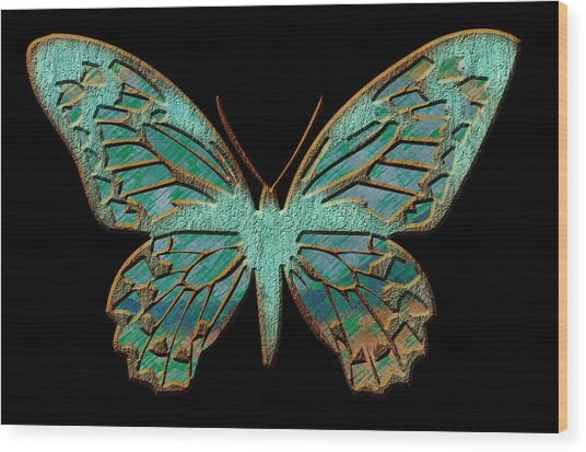 Butterflies By Design Wood Print by Edie Kynard