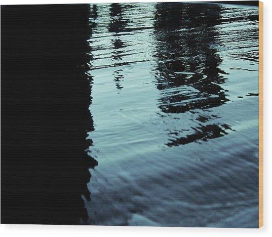..by The Lake.. Wood Print by Adolfo hector Penas alvarado