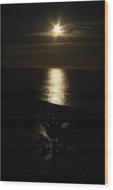 Cabo Dusk Wood Print by Fredrik Ryden