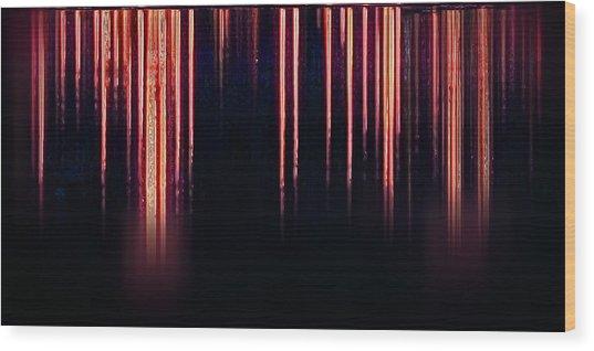 Calm Tense 04 Wood Print by Li   van Saathoff