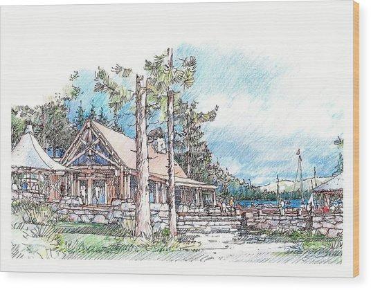 Camp Wood Print
