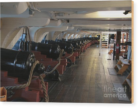 Cannons Of The Constitution Wood Print