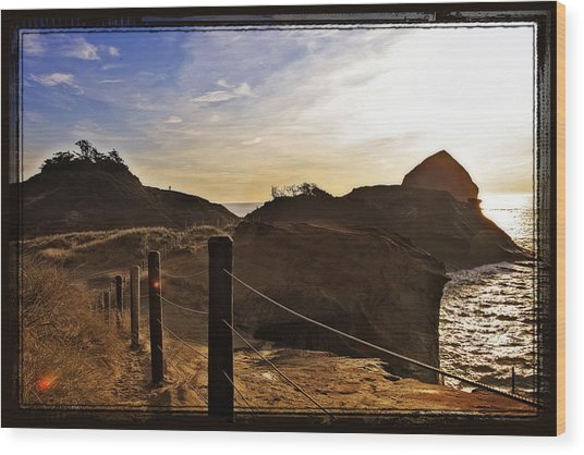 Cape Kiwanda Oregon Wood Print