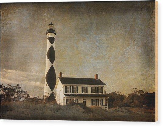Cape Lookout Wood Print