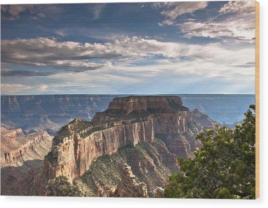Cape Royal North Rim Grand Canyon Wood Print