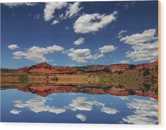 Capitol Reef National Park 4 Wood Print by Southern Utah  Photography