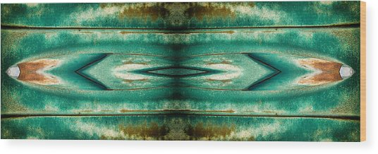 Carschach002 Wood Print by Tony Grider