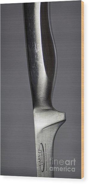 Carv-it Wood Print by Elena Nosyreva