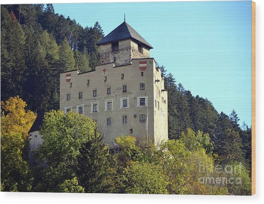 Castle Landeck In Austria Wood Print
