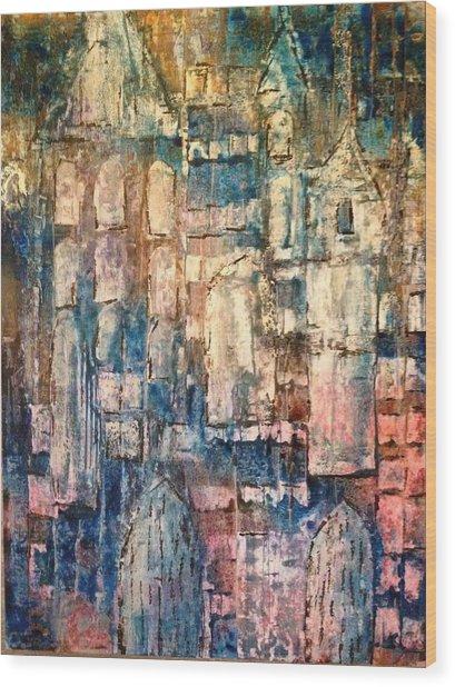 Cathedral Wood Print by Kelli Perk
