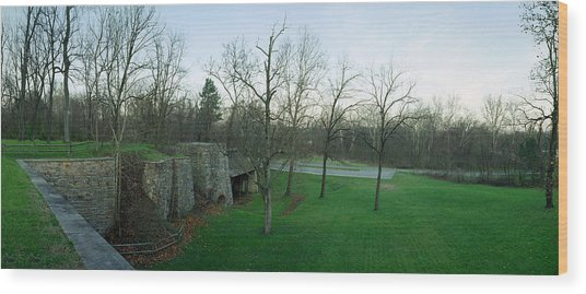Catoctin Furnace Wood Print by Jan W Faul