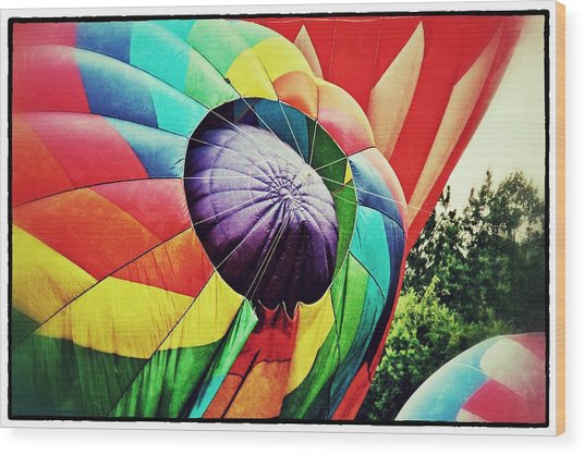 Celebrate America Balloon Fest 1 Wood Print