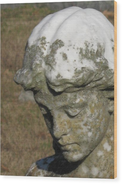 Cemetery Series 1 Wood Print