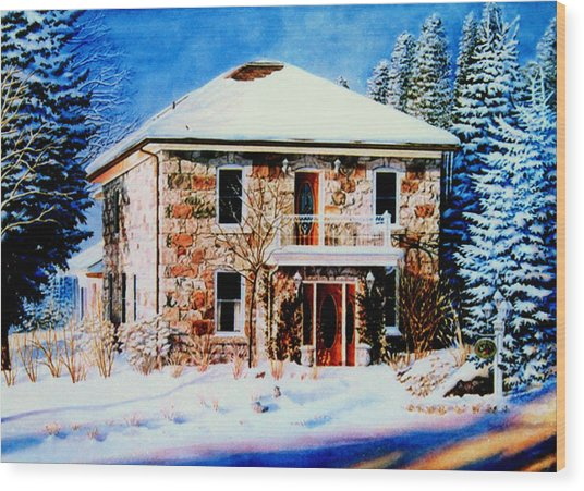 Century Farmhouse Home Painting By Hanne Lore Koehler