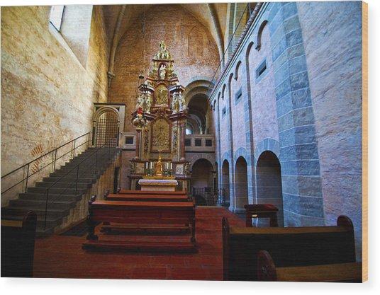 Chapel Trier Dom Wood Print