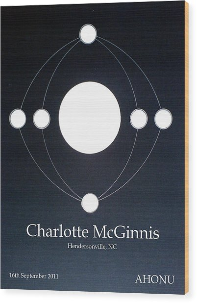 Charlotte Mcginnis Wood Print