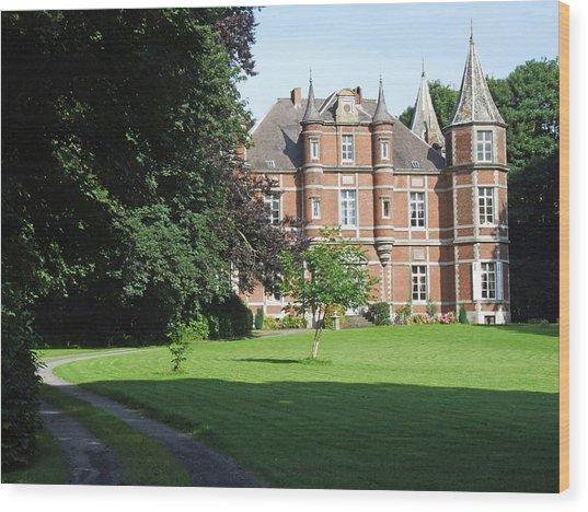 Chateau De Miremont Belgium Wood Print