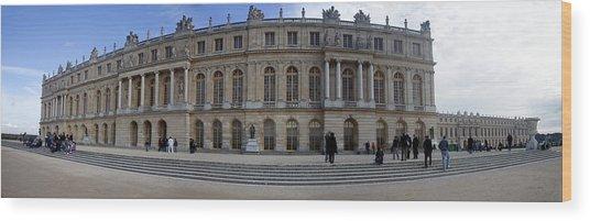 Chateau De Versailles Wood Print by Cecil Fuselier