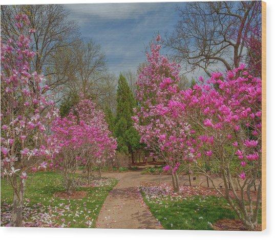 Cheekwood Gardens Wood Print