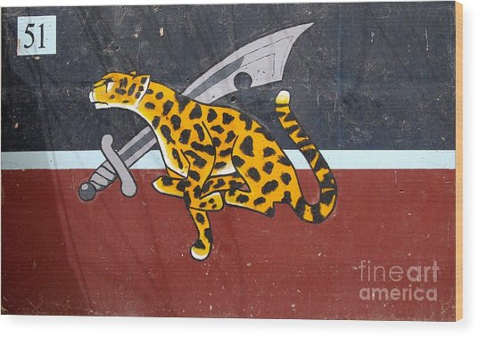 Cheetah 51 Wood Print by Unknown