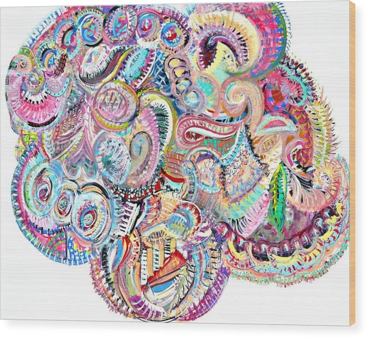 Cherubim Beryl Wood Print