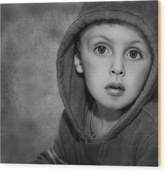 Child Hood Wood Print by Pat Abbott