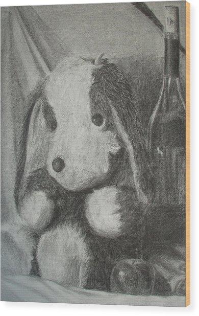 Childlike Wood Print by Tania Kelvin