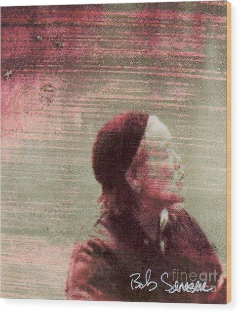 Chinese Woman Wood Print