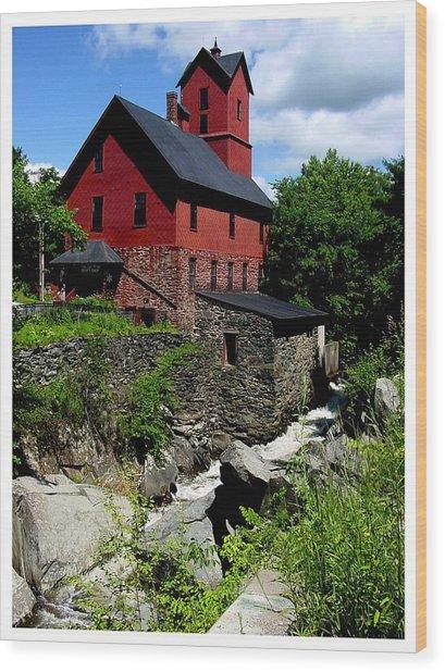 Chittenden Mill  Wood Print
