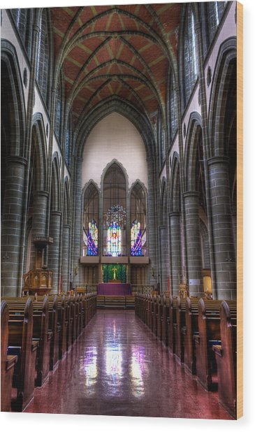 Christ Church Cathedral Wood Print by Matt Dobson