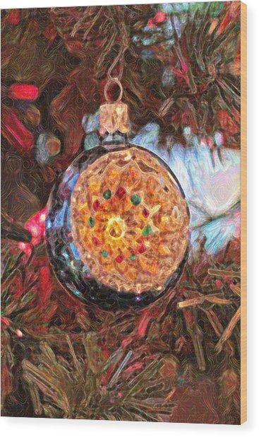 Christmas 1 Wood Print