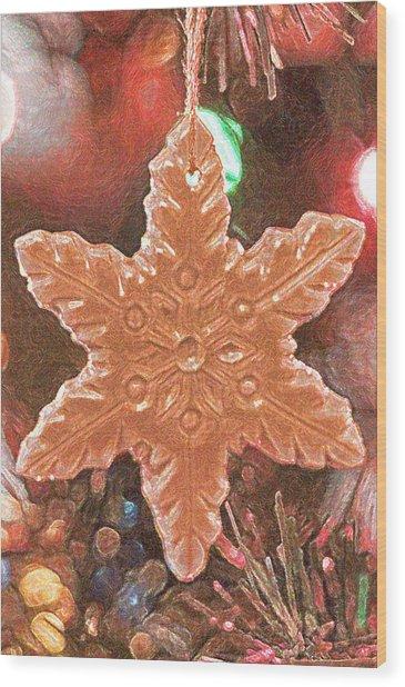 Christmas 2 Wood Print
