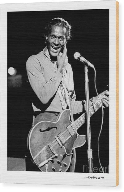 Chuck Berry 1 Wood Print